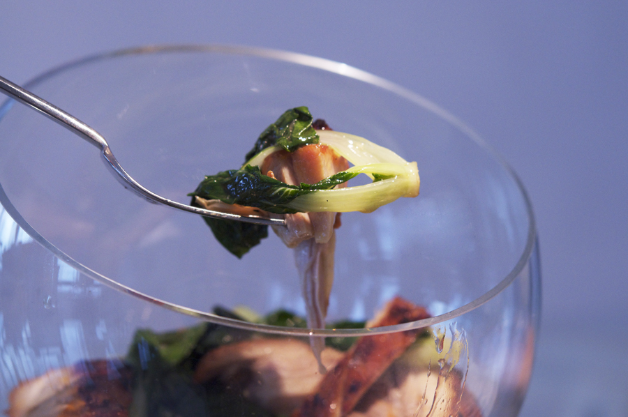 1588 Фоторецепт: Теплый салат с курицей