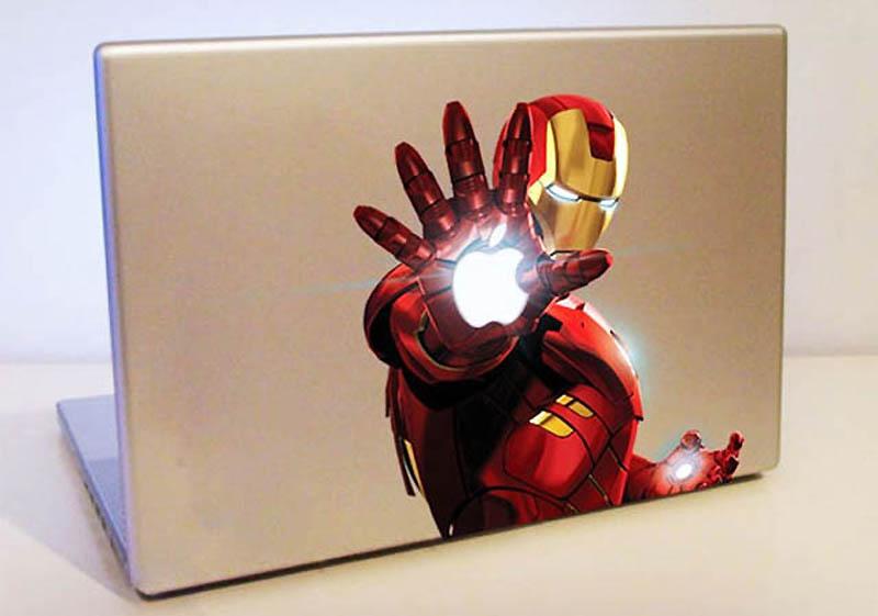 16109 50 креативных наклеек на MacBook