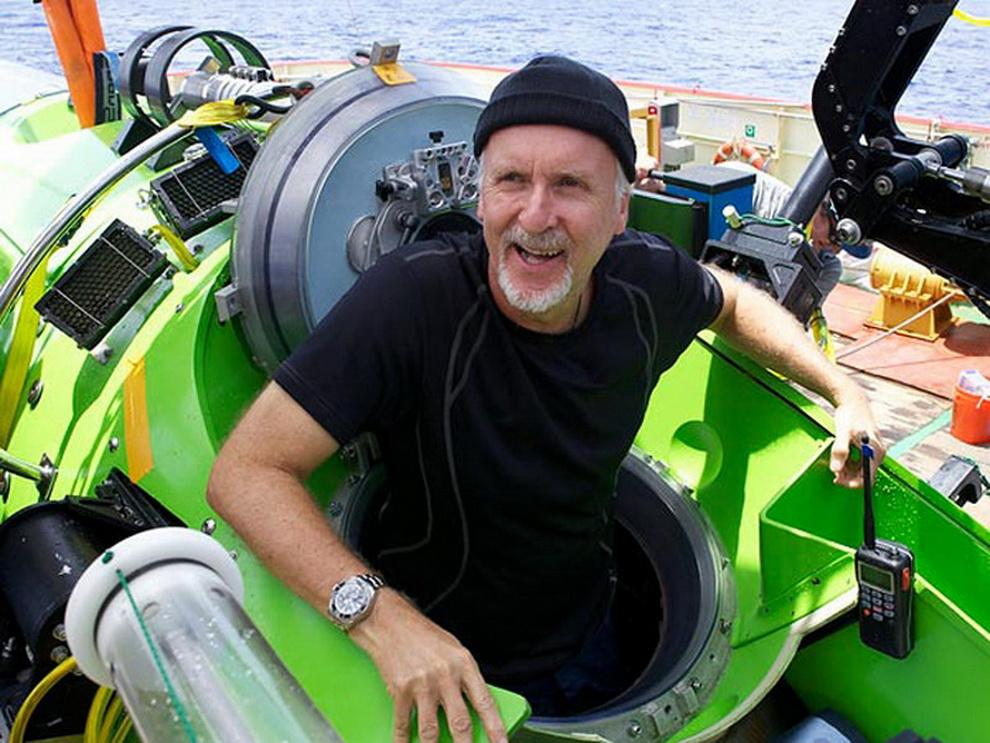 Режиссер «Титаника» совершил одиночное погружение на дно Марианской впадины