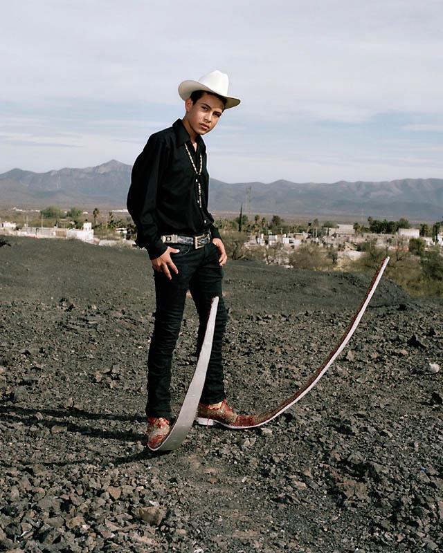 1707 Новое увлечение Мексики: остроносые туфли для танцев