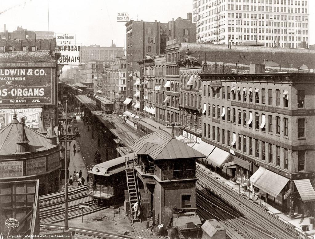17100 Американские мегаполисы сто лет тому назад