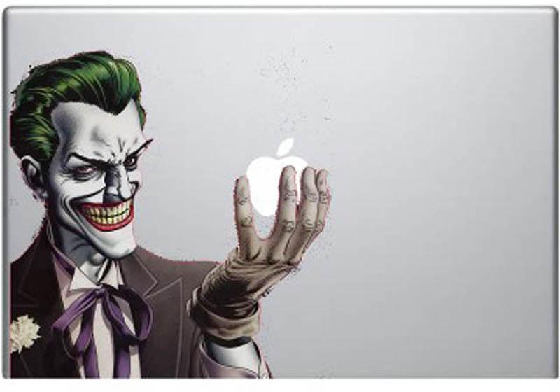 17101 50 креативных наклеек на MacBook
