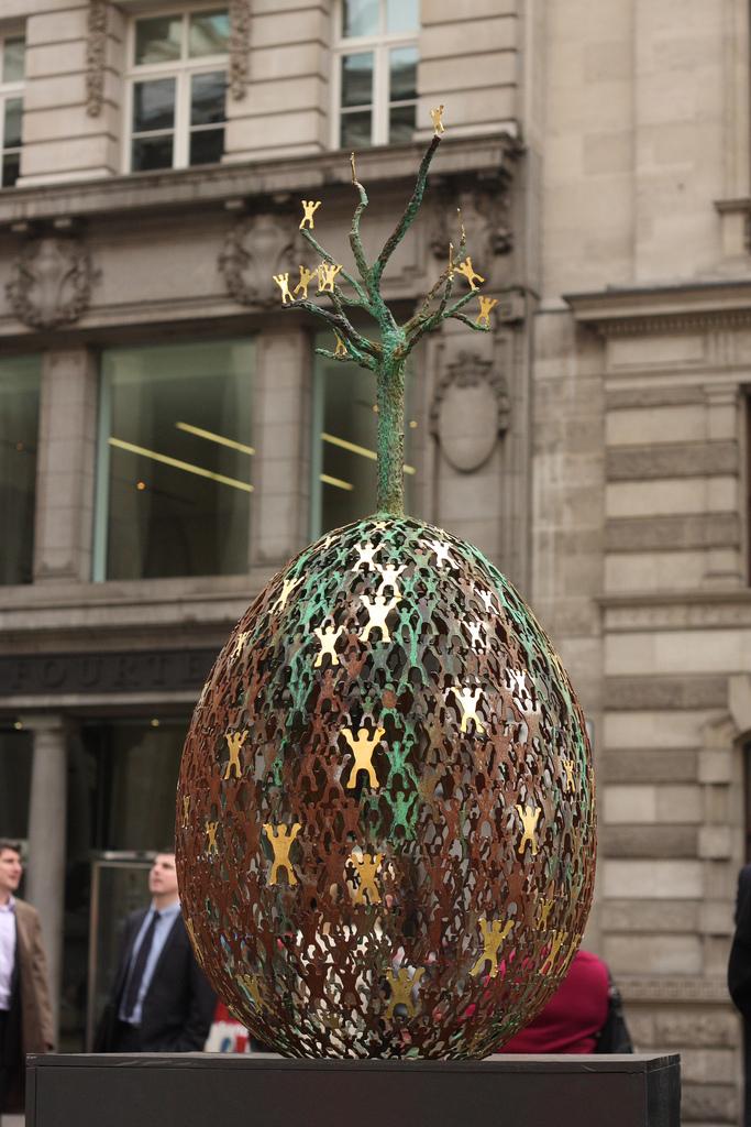 1729 Большая пасхальная охота за расписными яйцами в Лондоне