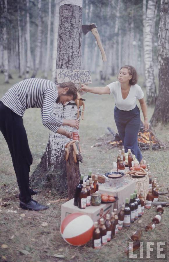 1731 Советская молодежь 60 х глазами американского фотографа