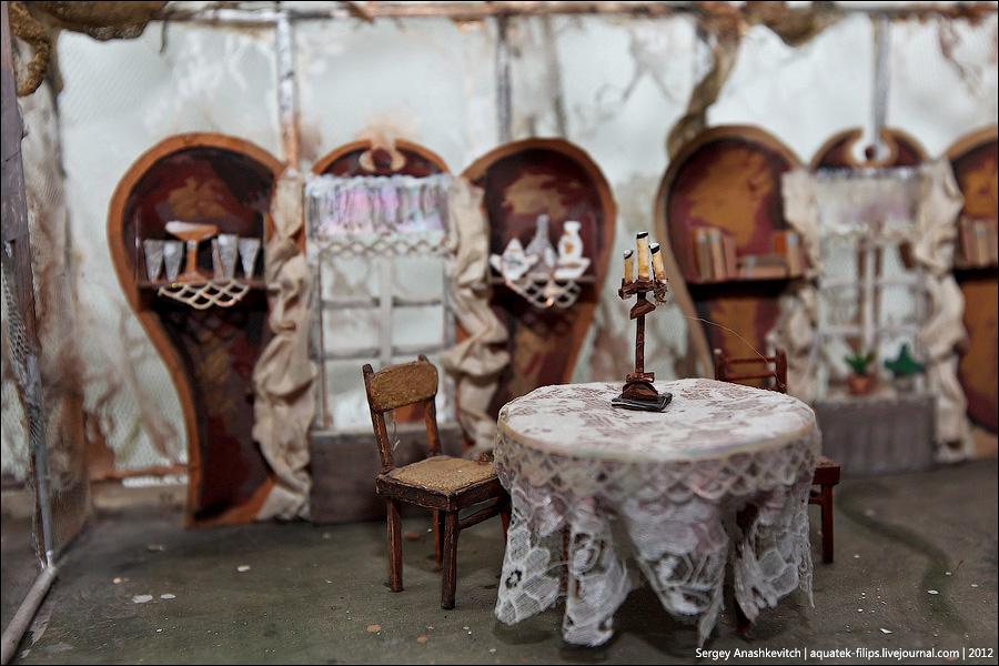 1805 Закулисье или Выставка миниатюрных театральных декораций
