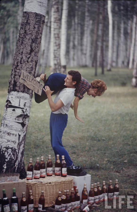 1829 Советская молодежь 60 х глазами американского фотографа