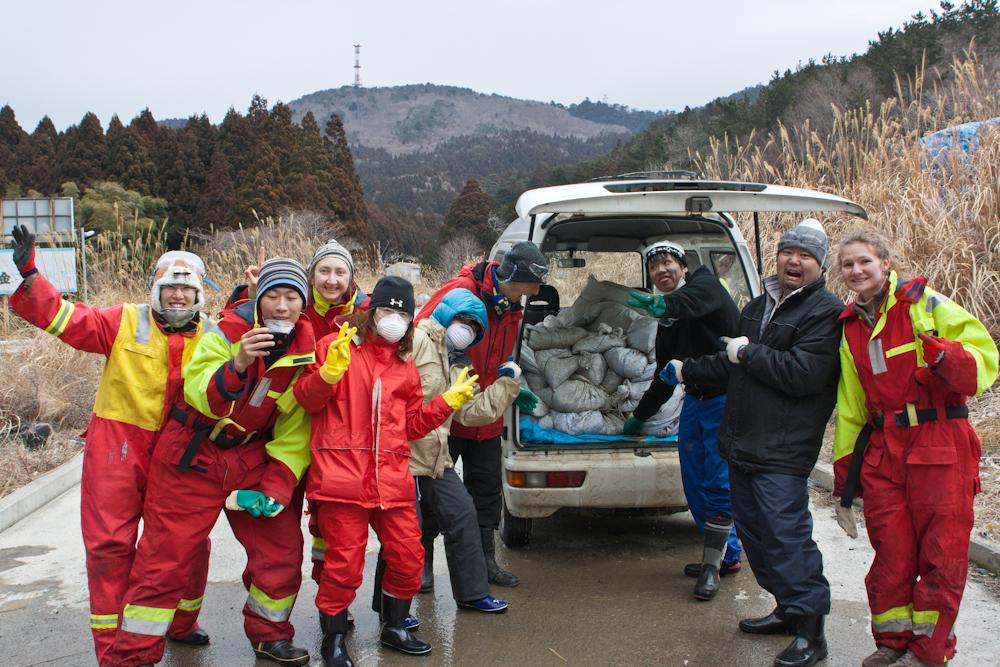 1848 Япония в зоне бедствия   волонтерские приключения