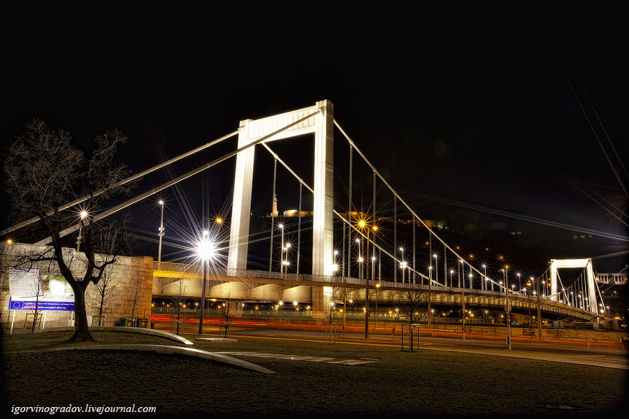1890 Ночной Будапешт