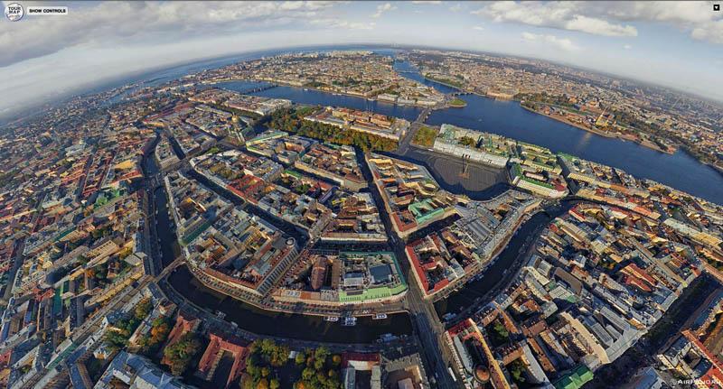 1923 Топ 10 панорамных фото городов мира