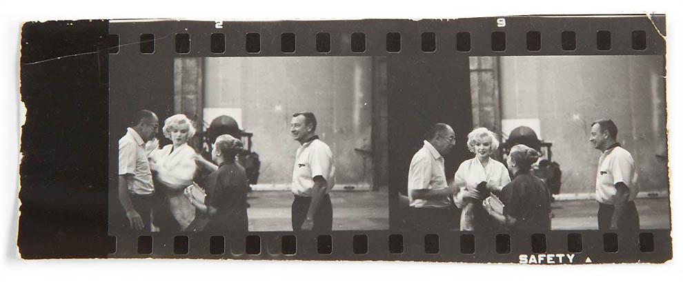 1954 Неопубликованные ранее фотографии Мэрилин Монро выставлены на аукционе