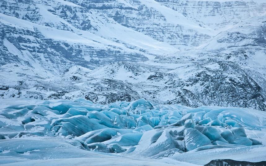 1959 Голубые айсберги и ледники Исландии