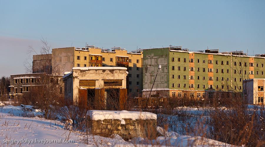 1972 Заброшенный город Кадыкчан на Чукотке