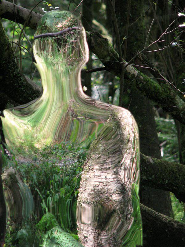 200908vestigebyrobmulholland2 Скульптуры призраки в шотландском лесу