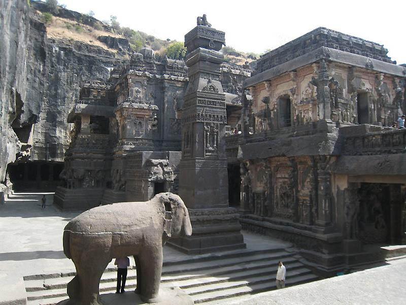 2012 Эллора   пещерные храмы Индии