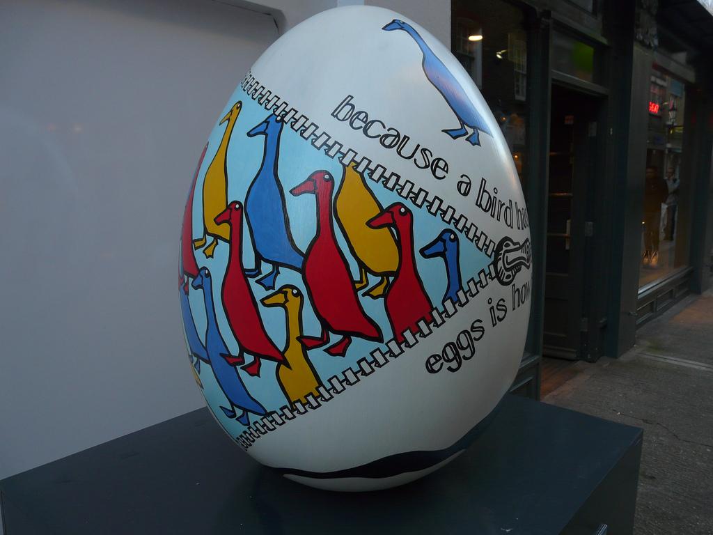2025 Большая пасхальная охота за расписными яйцами в Лондоне