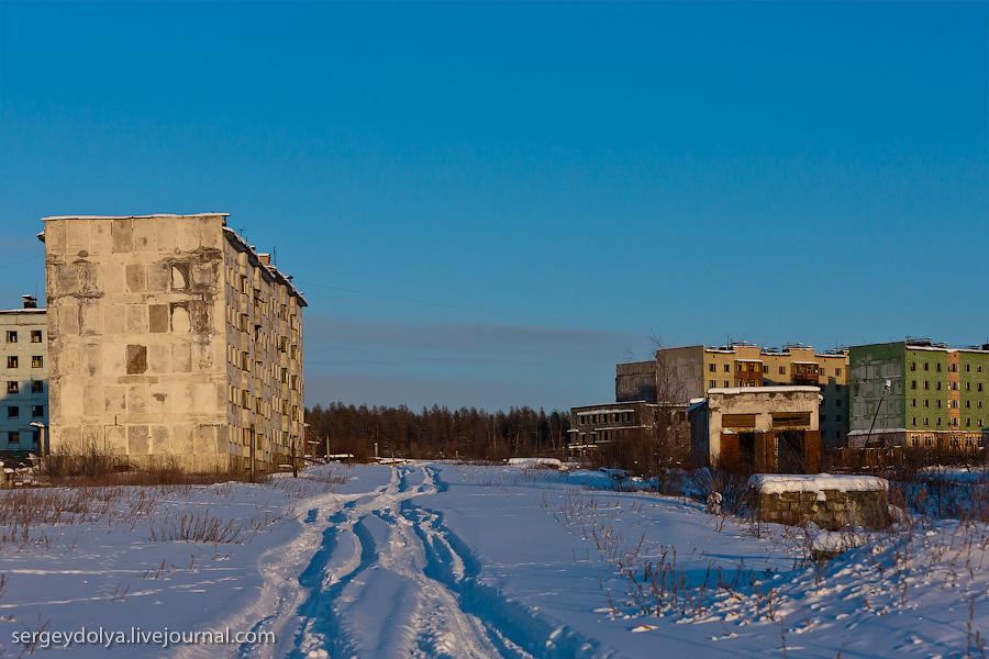 2068 Заброшенный город Кадыкчан на Чукотке