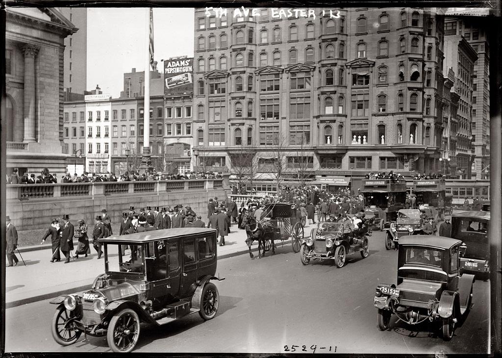 2083 Американские мегаполисы сто лет тому назад