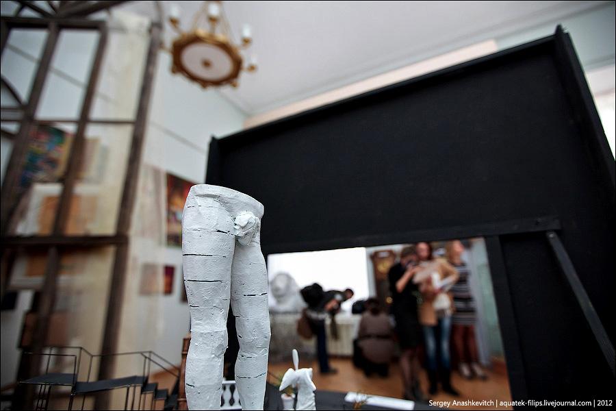 2087 Закулисье или Выставка миниатюрных театральных декораций