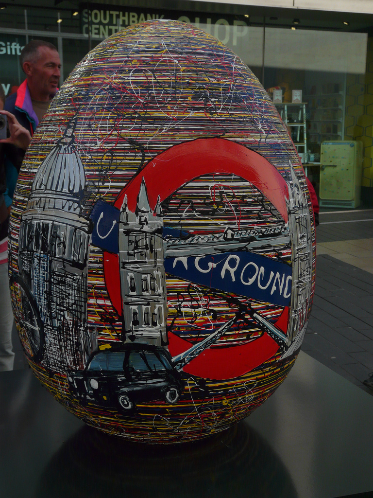 2107 Большая пасхальная охота за расписными яйцами в Лондоне
