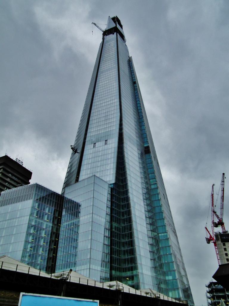 2108 Строительство небоскреба Shard London Bridge