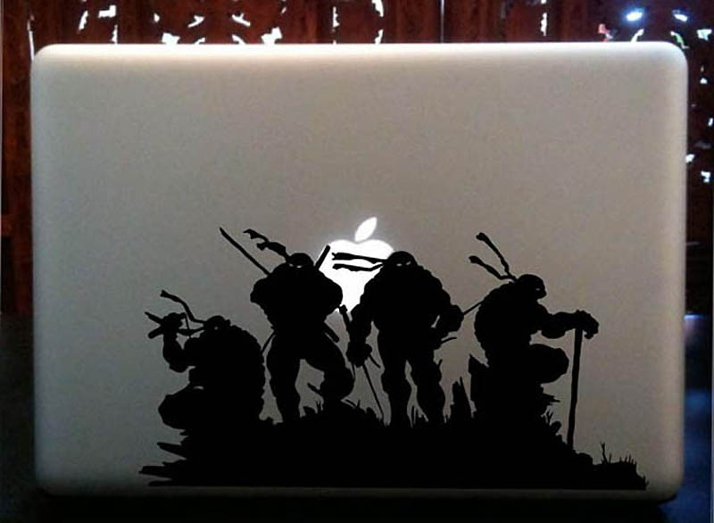 21120 50 креативных наклеек на MacBook