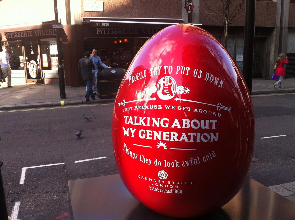 2129 Большая пасхальная охота за расписными яйцами в Лондоне