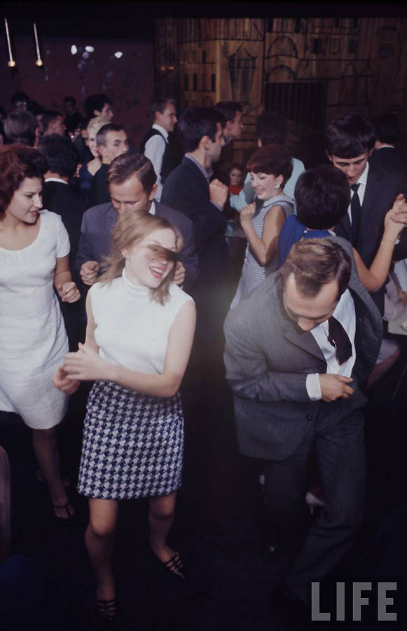 2134 Советская молодежь 60 х глазами американского фотографа