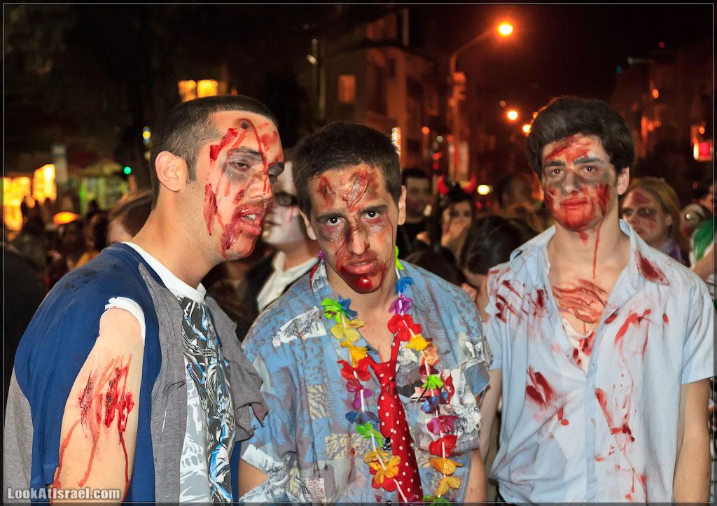 2139 Зомби на улицах Тель Авива – Zombie Walk Tel Aviv