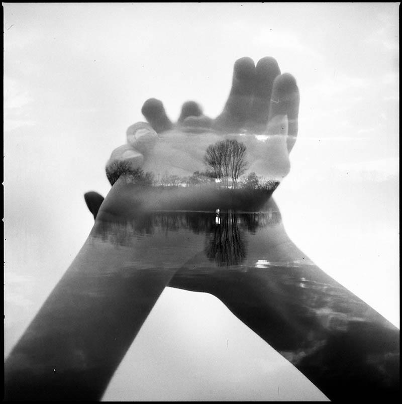 2176 Фотографии Флориана Имгрунда с двойной экспозицией