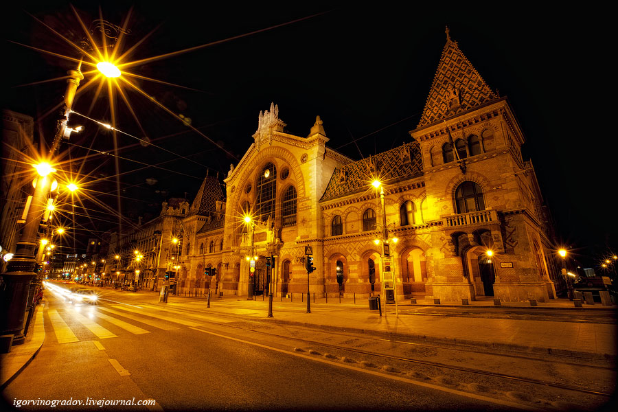 22112 Ночной Будапешт