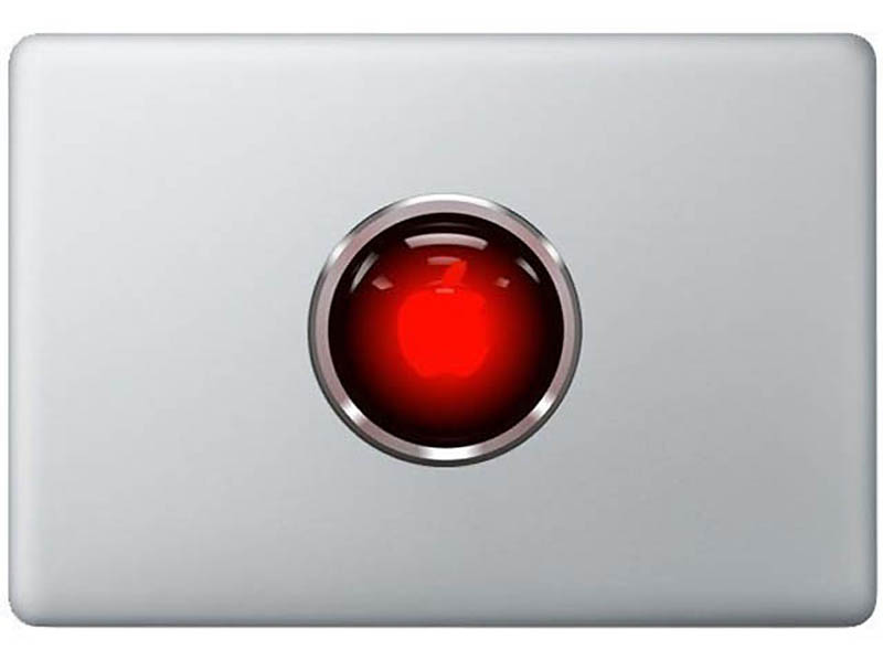 22114 50 креативных наклеек на MacBook
