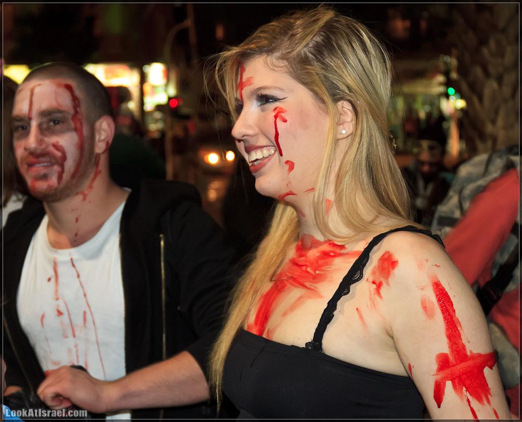 2231 Зомби на улицах Тель Авива – Zombie Walk Tel Aviv