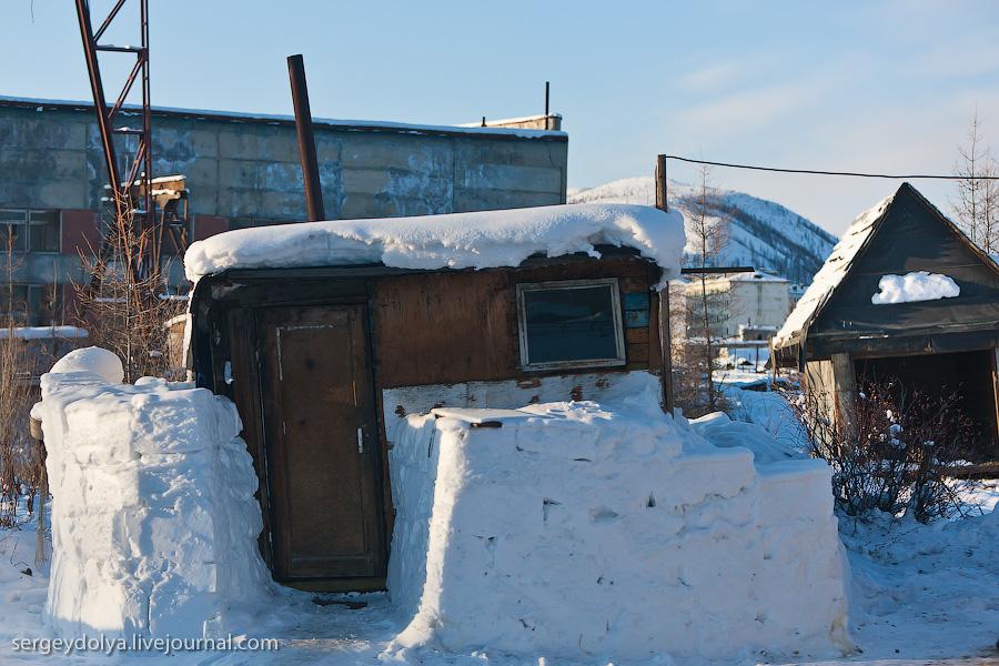 2298 Заброшенный город Кадыкчан на Чукотке