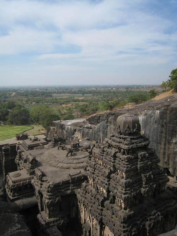 2312 Эллора   пещерные храмы Индии
