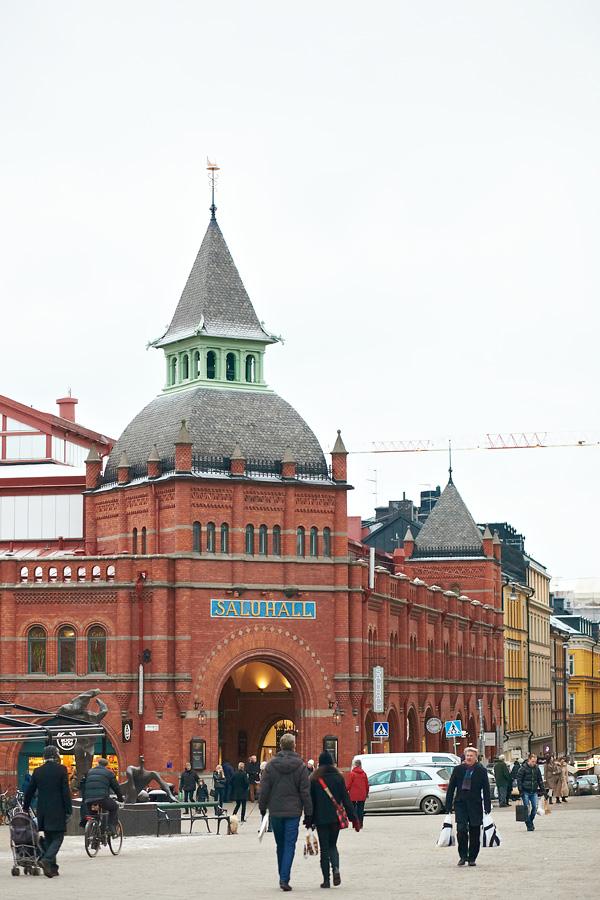 2371 Респектабельный рынок Östermalms Saluhall
