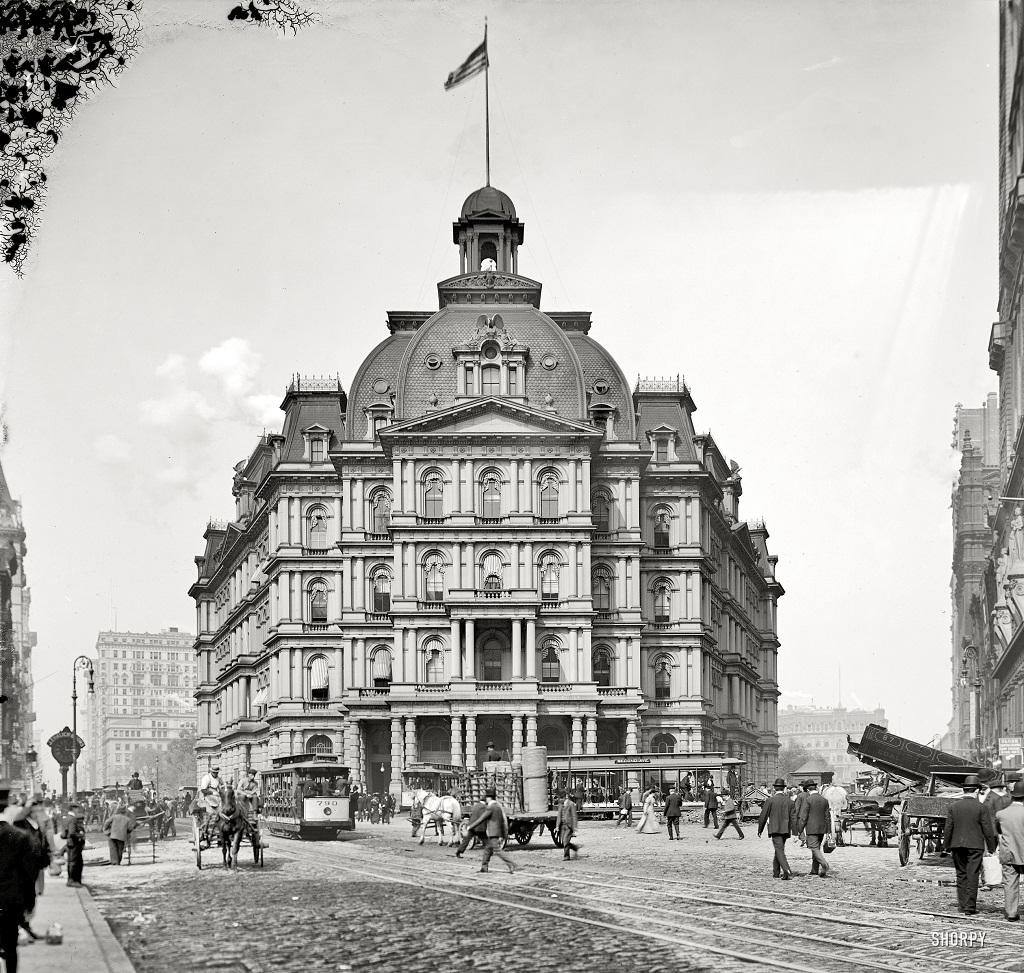 2395 Американские мегаполисы сто лет тому назад
