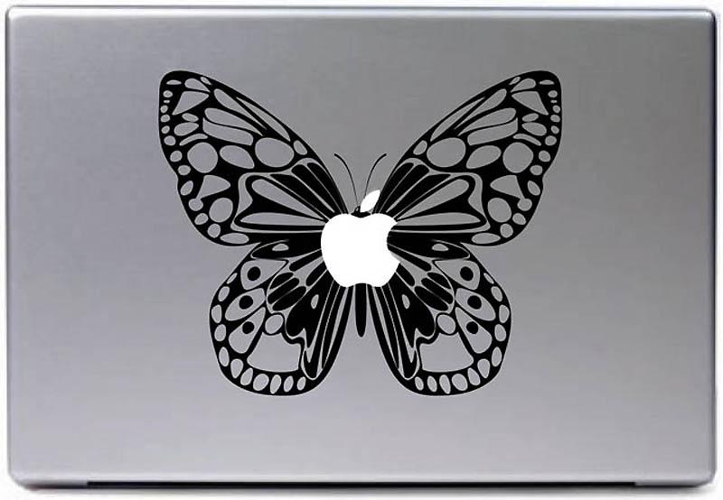 2396 50 креативных наклеек на MacBook