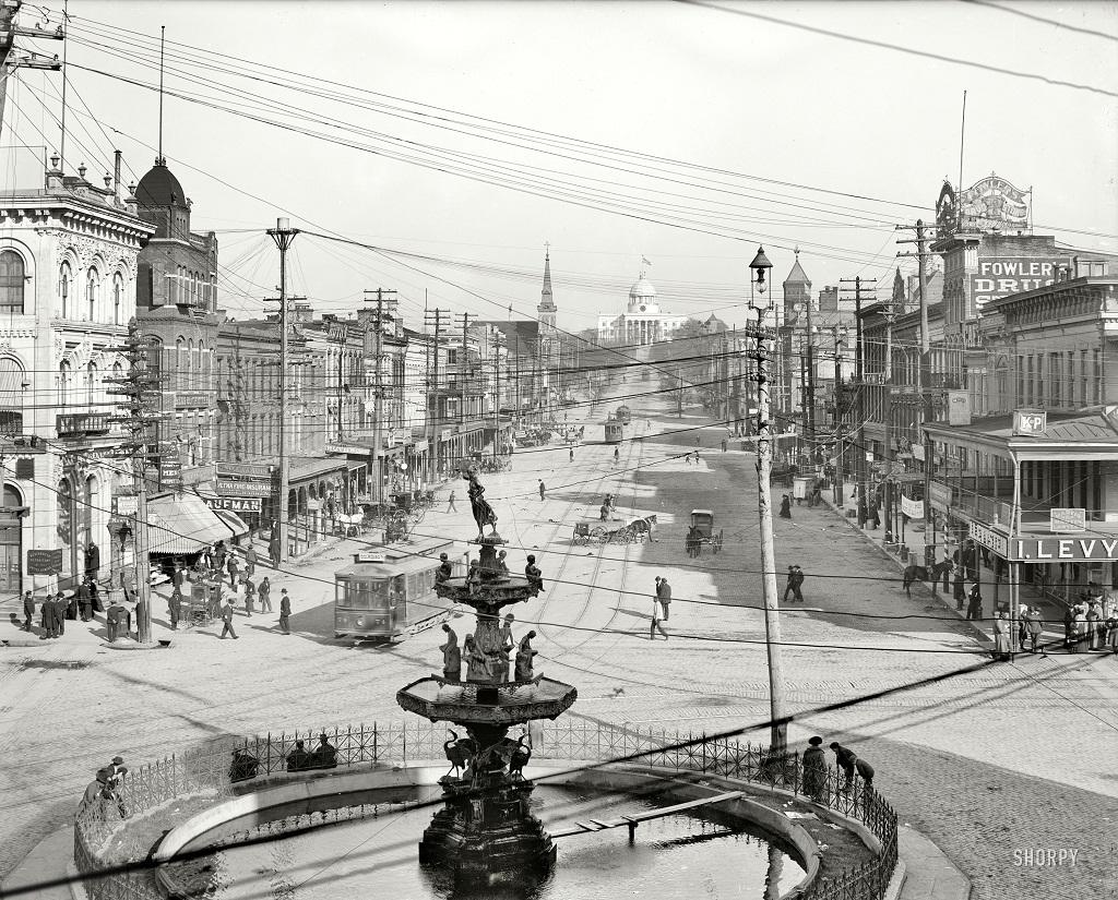 2466 Американские мегаполисы сто лет тому назад