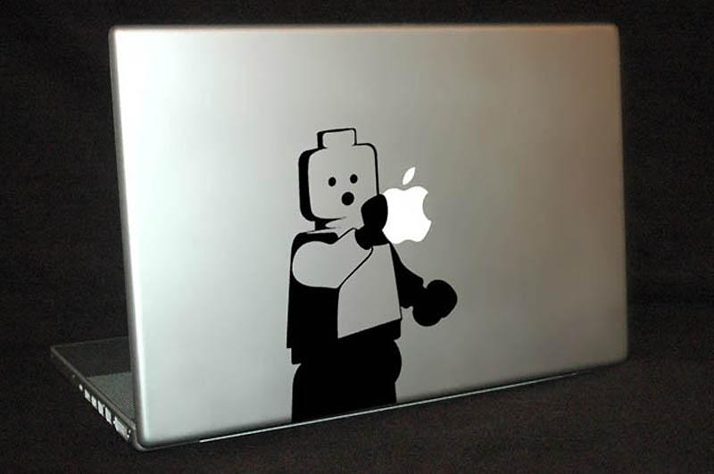 2467 50 креативных наклеек на MacBook