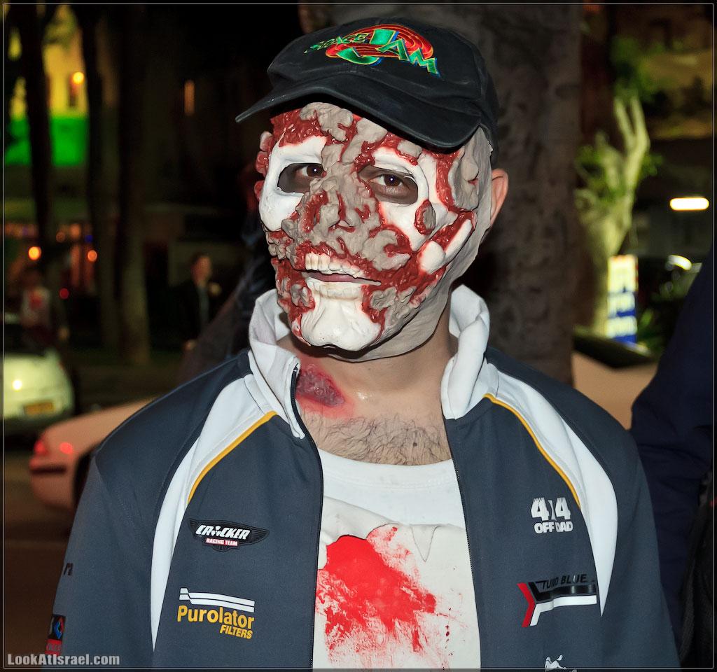 2522 Зомби на улицах Тель Авива – Zombie Walk Tel Aviv