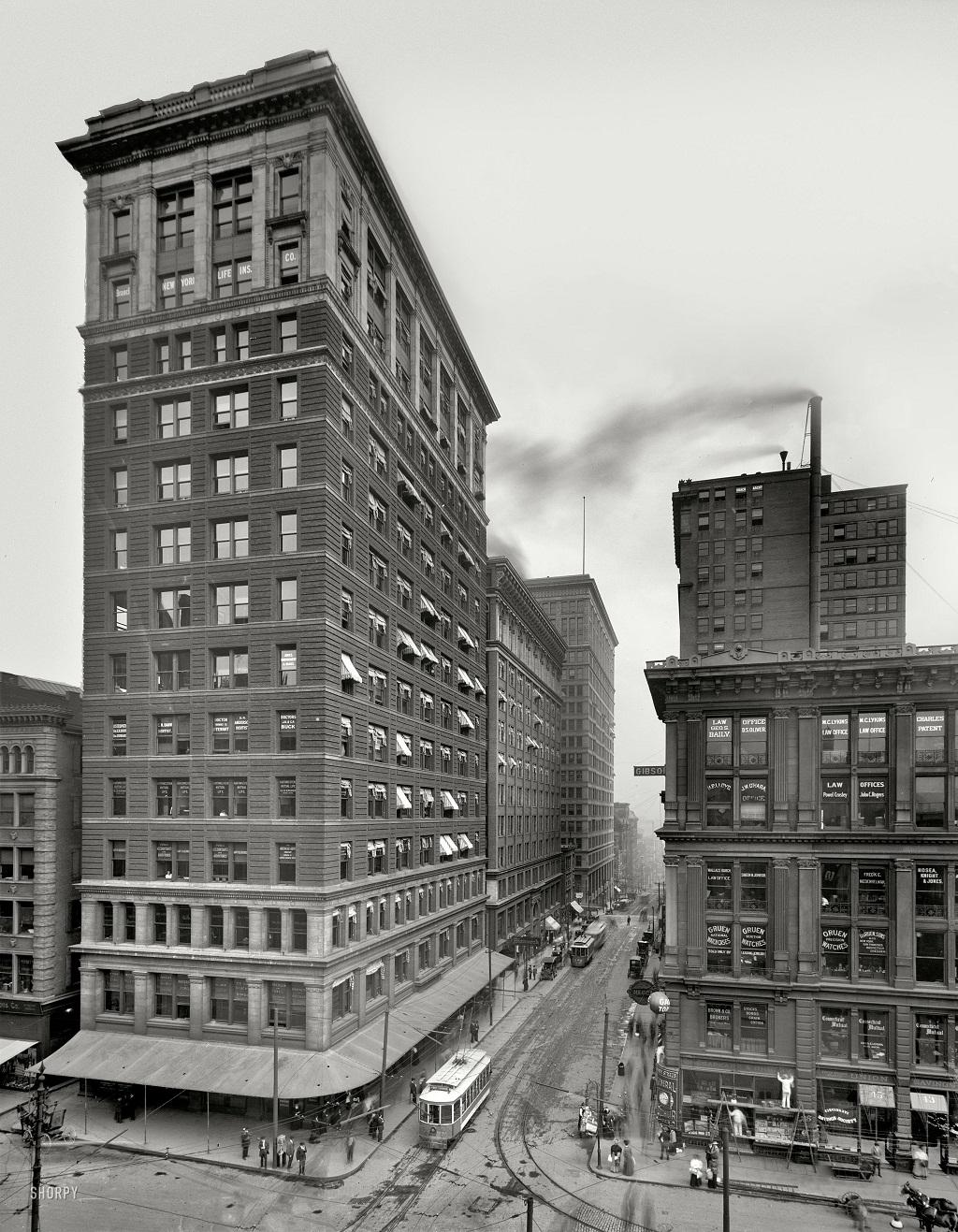 2563 Американские мегаполисы сто лет тому назад