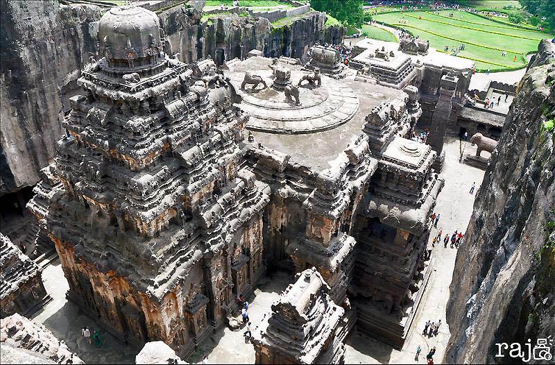 258 Эллора   пещерные храмы Индии