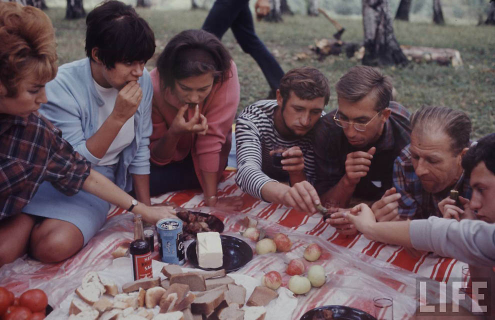 2615 Советская молодежь 60 х глазами американского фотографа
