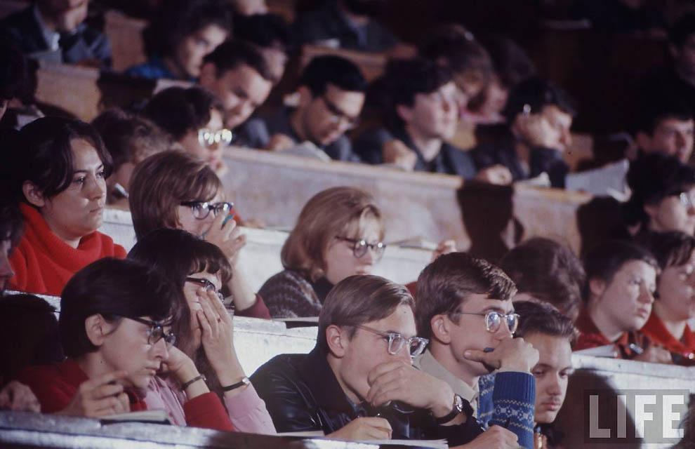2713 Советская молодежь 60 х глазами американского фотографа