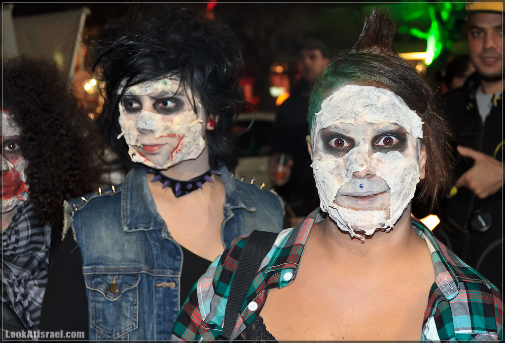2715 Зомби на улицах Тель Авива – Zombie Walk Tel Aviv