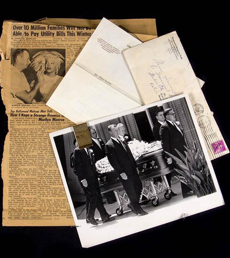 2730 Неопубликованные ранее фотографии Мэрилин Монро выставлены на аукционе