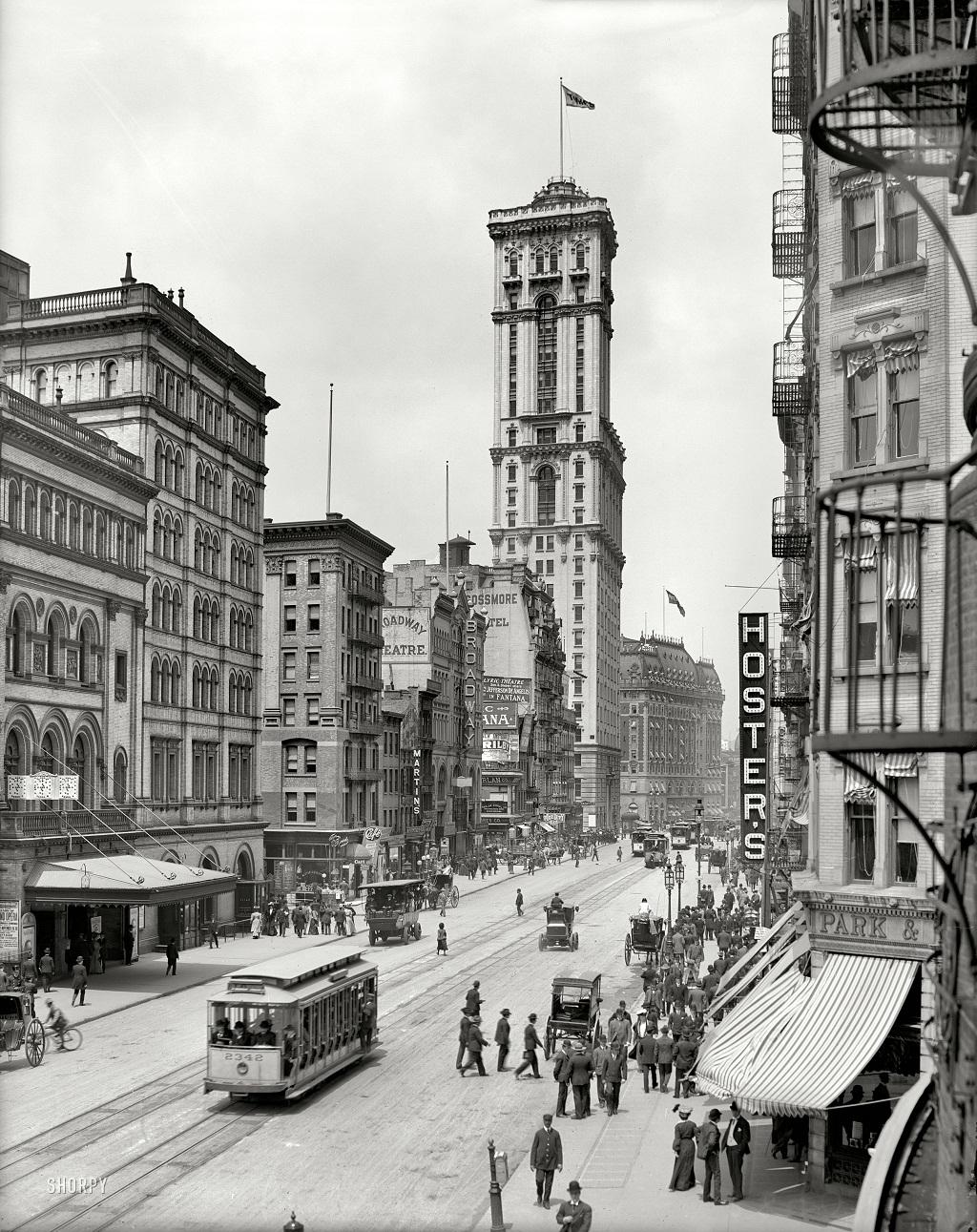 2748 Американские мегаполисы сто лет тому назад