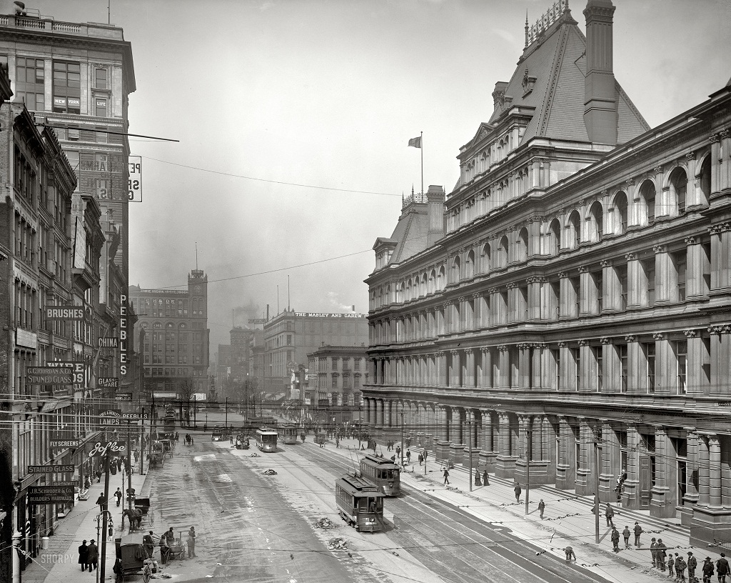 2846 Американские мегаполисы сто лет тому назад
