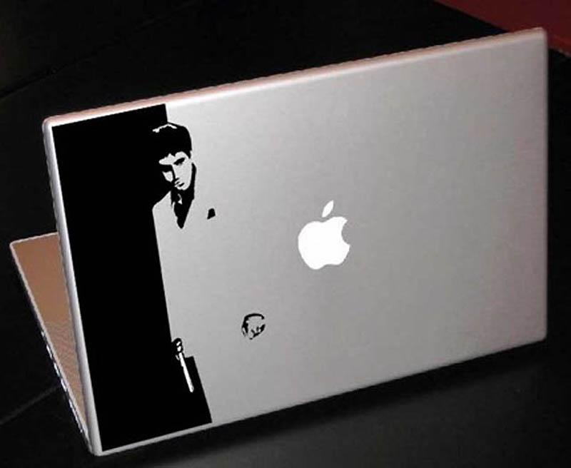2936 50 креативных наклеек на MacBook
