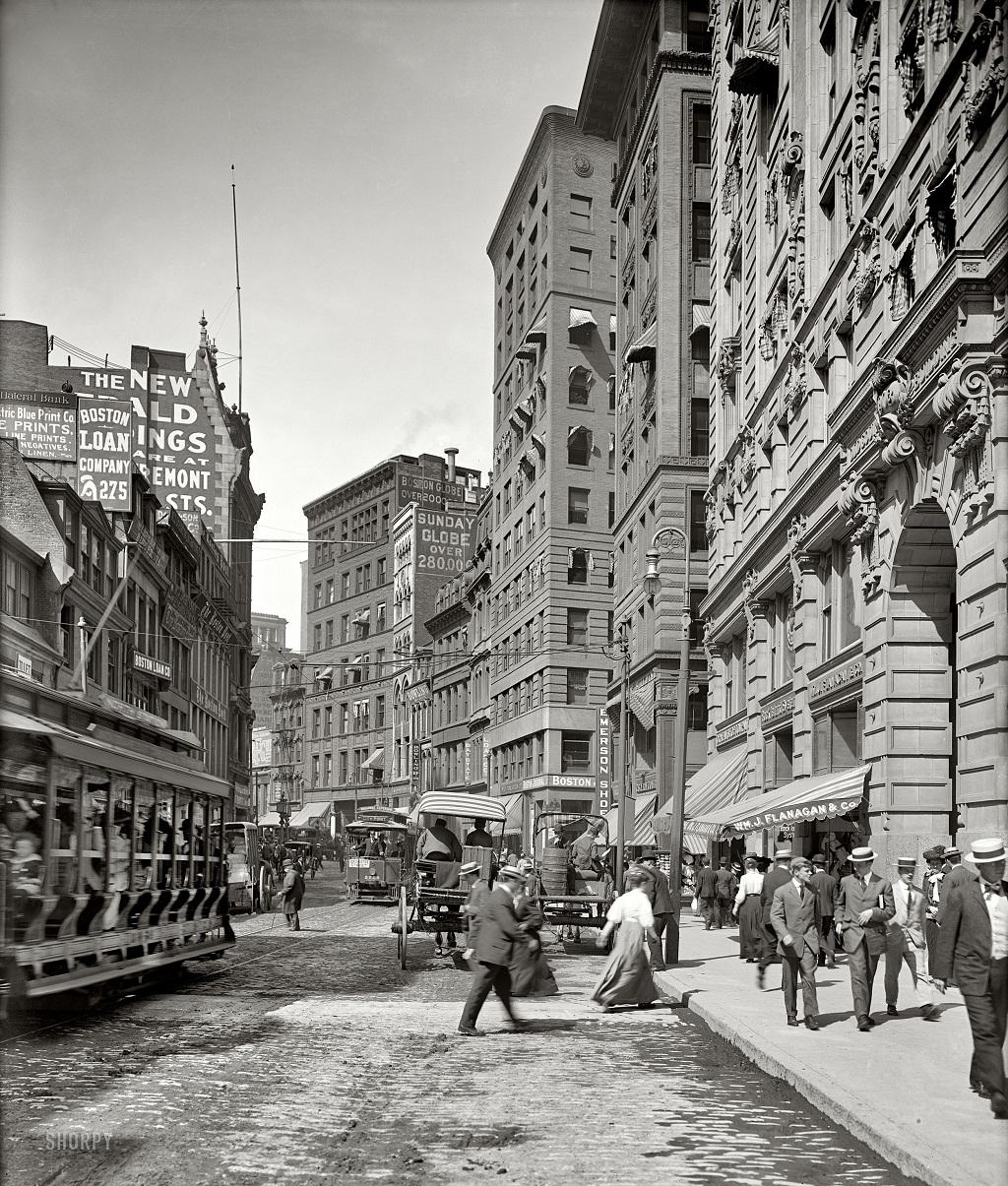 2941 Американские мегаполисы сто лет тому назад